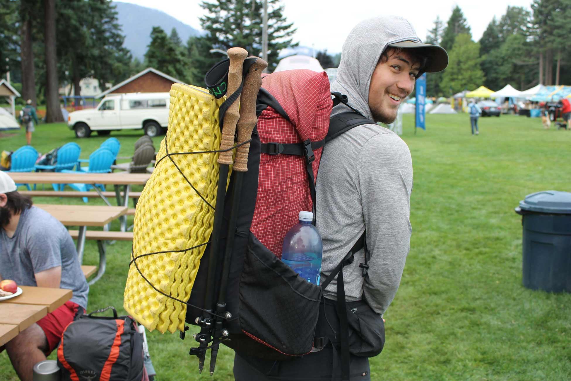Carbon Fiber Trekking Poles Made in USA 3